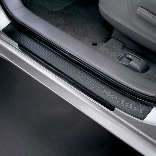New 2011 2017 toyota sienna door sill protectors from brandsport auto parts toy pt747 08100 ds