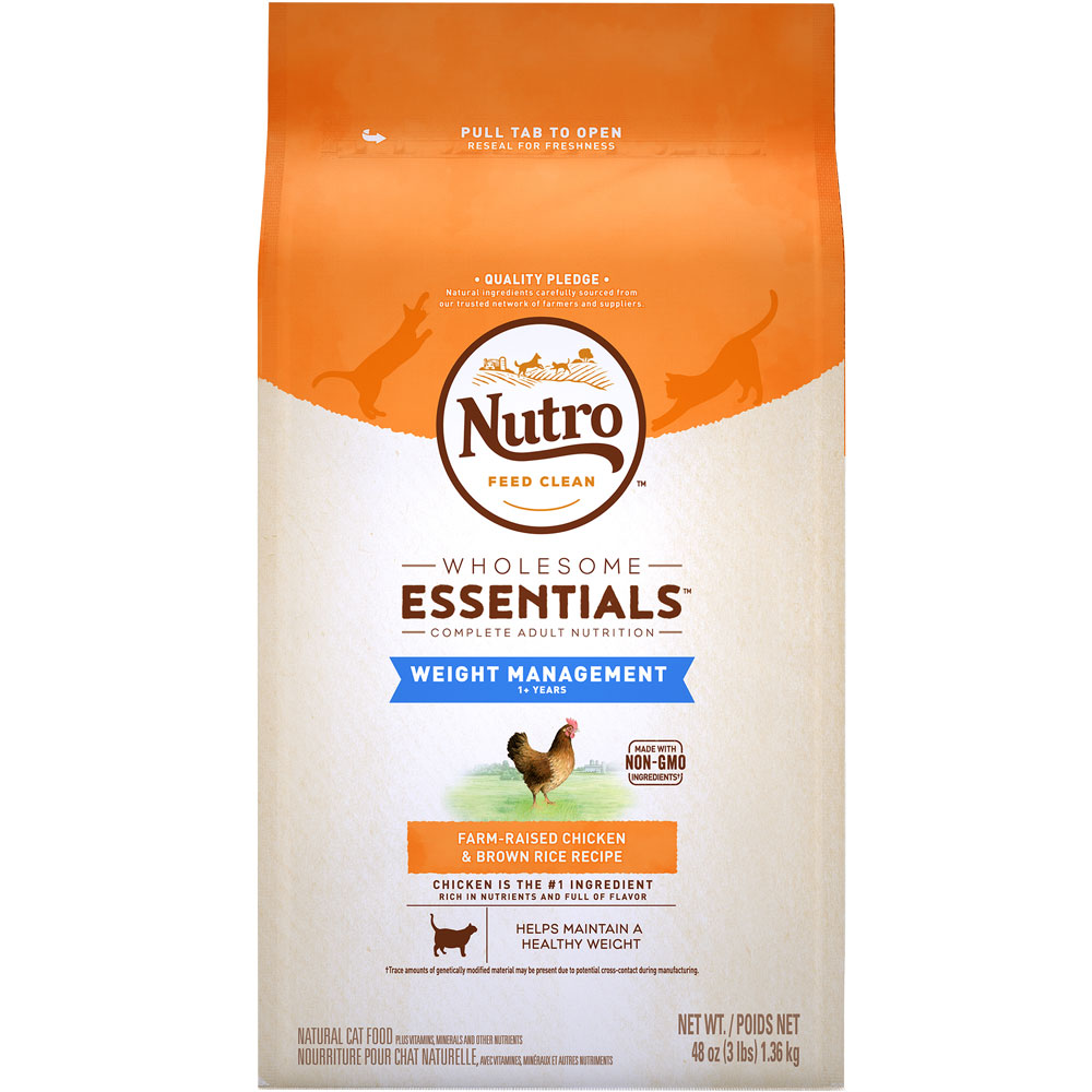 Nutro Wholesome Essentials Weight Loss En Brown Rice Cat 3