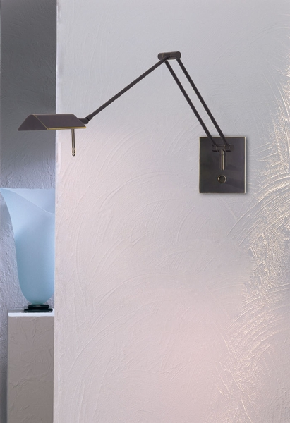 One One Holtkotter Lighting Low Voltage Bernie Series Swing Arm Sconce