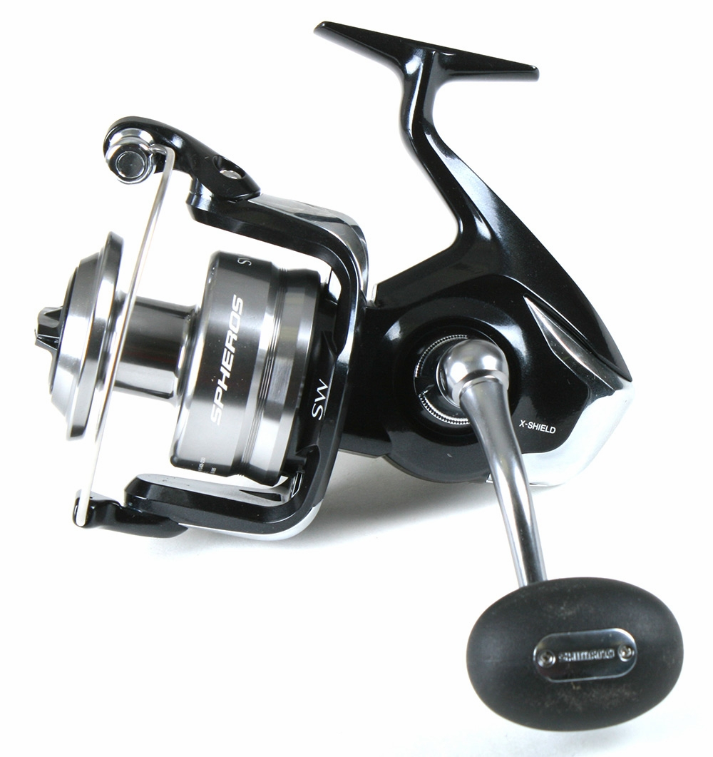 Fishing rod and reel shimano