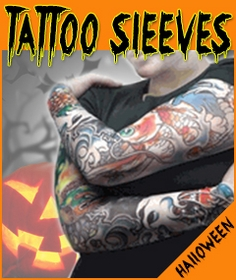 Temporary Tattoos Costume Tattoo Clothing Full Arm Sleeves