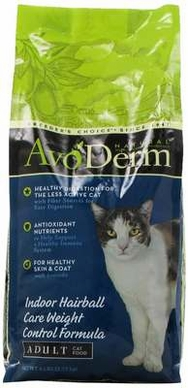 Avoderm Natural Weight Control Corn Free Formula Cat Food 6 Pound