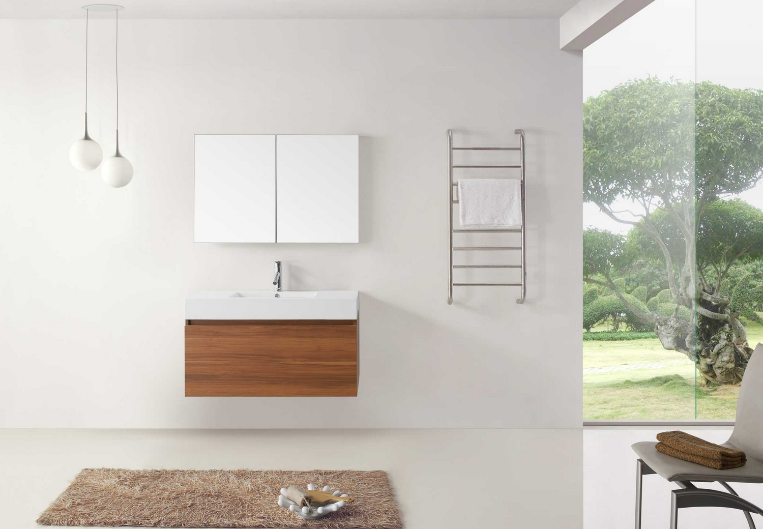 Virtu Usa Zuri Nine Single Bathroom Vanity Cabinet In Plumpolymarble Virtu