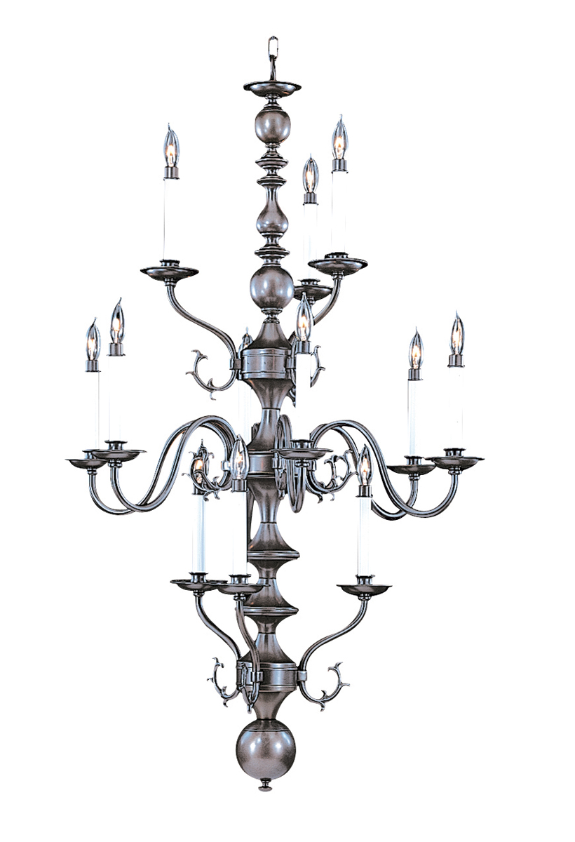 framburg lighting 12light jamestown foyer chandelier - Foyer Chandeliers