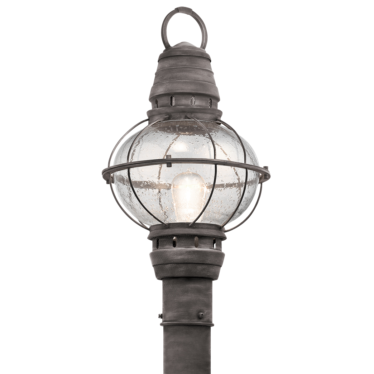 Kichler Lighting  49631WZC  Bridge Point 1 Light Outdoor Post Mount Lantern  in Weathered ZincKichler Lighting Outdoor Post Lights. Kichler Lighting Outdoor Sconce. Home Design Ideas