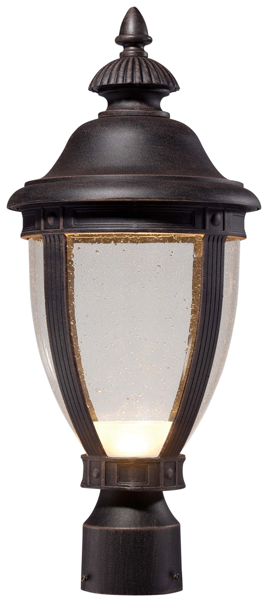 The Great Outdoors  72416 51A L  Wynterfield 1 Light LED Post MountOutdoor Post Lighting Fixtures   Home Design Ideas and Pictures. Outdoor Post Mount Lighting Fixtures. Home Design Ideas