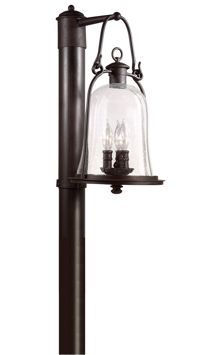 Troy Lighting (P9465) Owings Mill 3 Light Exterior Large Post Lantern