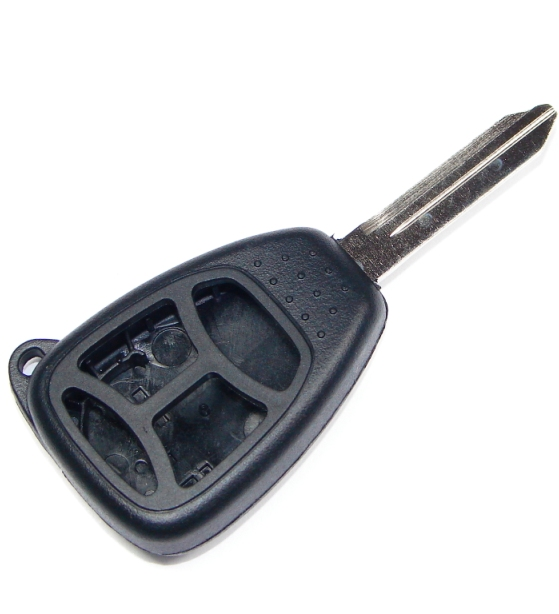 4 button chrysler dodge jeep replacement case shell with blank key