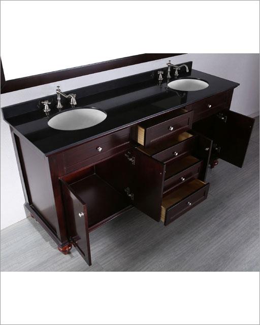 Bosconi Bathroom In Contemporary Double Vanity Bosb
