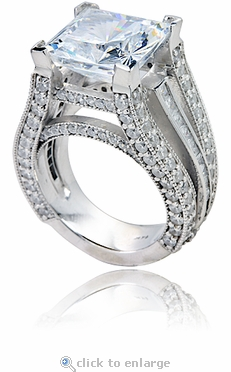 How to Tell if Its Cubic Zirconia and to See the Best Quality foto