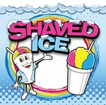 Shaved Ice Man Banner - 2' x 2'