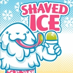3' × 3' Shaved Ice Banner, Yeti Design
