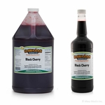 Black Cherry Shaved Ice Syrup