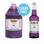 Sugar Free Grape Shaved Ice Syrup