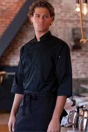 LISBON Black CHEF SHIRT