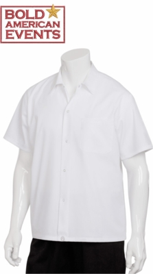 Bold American Utility  Shirt With Logo