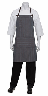 Brooklyn Striped Urban Bib Apron