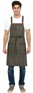 Denver Urban Canvas Bib Apron