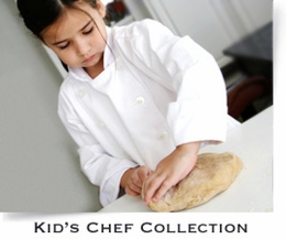 KIDS CHEF COATS AND APRONS