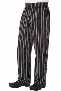 Designer Chef Baggies - Chalk Stripe
