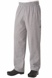 Chef Pants - The Basic Baggy Check Pants