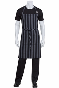 Chesapeake Black  Denim Bib Apron