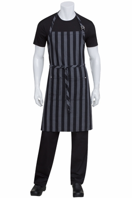 CHESAPEAKE Butcher Stripe Denim Bib Apron