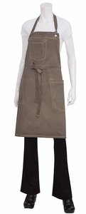 Dorset Antique Wash Denim Bib Apron
