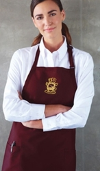 Embroidered Motif Designer Aprons