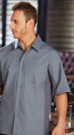 Smoky GRAY Cool Vent Men's Server Shirt