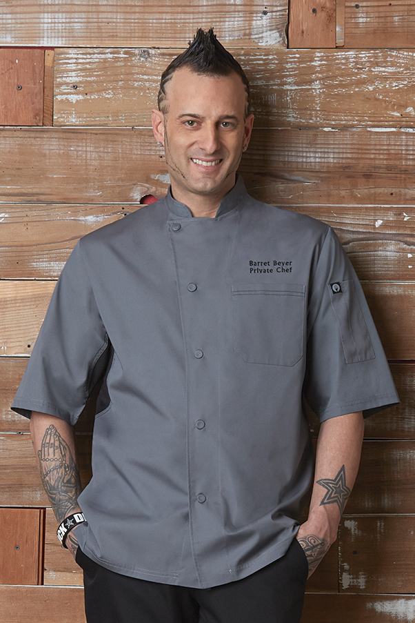 88a12f2cc78 VALAIS Signature V Series Short Sleeve Chef Jacket