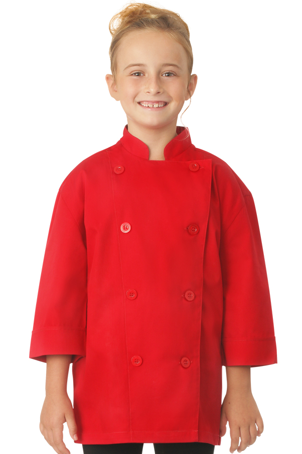 Kid's Red Chef Coat