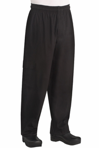 Kitchen Cargo Pants - Black