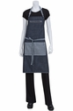Manhattan Blue Denim Bib Apron