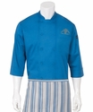 The PASI Cooking Blue Chef Coat