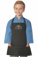 PASI Cooking Kids Black Apron