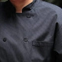 CARLISLE Executive PINSTRIPE Chef's Jacket