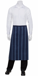 Presidio Contrast Striped Urban Bistro Apron