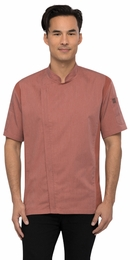 SPRINGFIELD Brick Red Short Sleeve Chef Coat