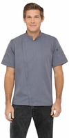 SPRINGFIELD Ink Blue Short Sleeve Chef Coat