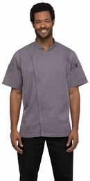SPRINGFIELD Purple Short Sleeve Chef Coat