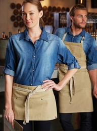 Austin Denim Apron Collection