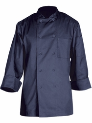 TORINO Basic Chef Jacket in Navy Blue