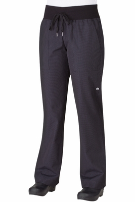 Women's Pinstripe Comfy Chef Pants