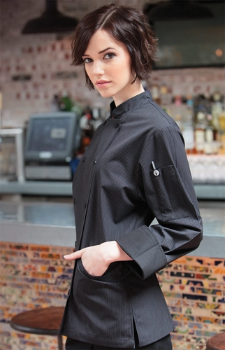 Women's PINSTRIPE Chef's Jacket