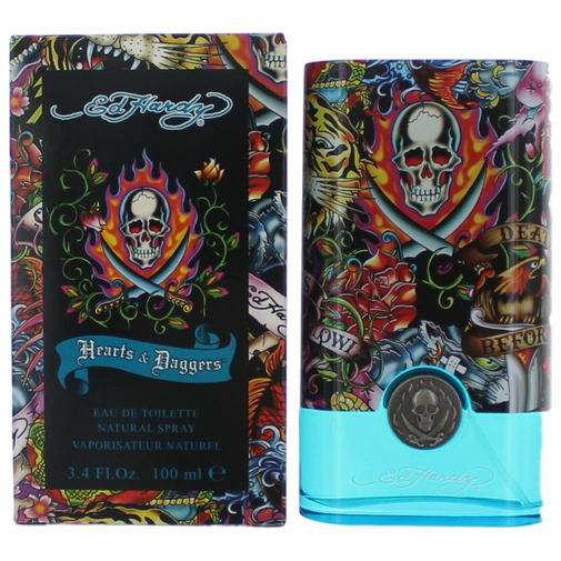 Ed Hardy By For Men Eau De Toilette Spray 3 4 Ounces: Ed Hardy Hearts & Daggers By Christian Audigier, 3.4 Oz Eau De Toilette Spray For Men
