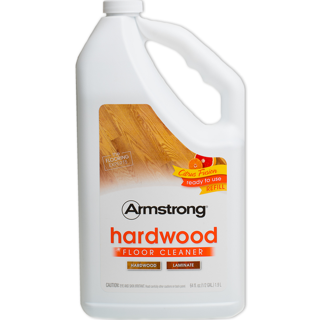 Laminate Wood Flooring Cleaner: Armstrong 64 Oz Hardwood & Laminate Floor Cleaner Refill