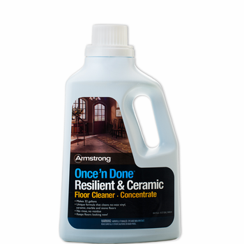 Armstrong Once N Done No Rinse Floor Cleaner Concentrate