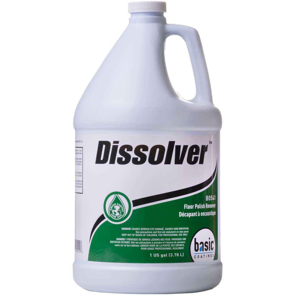 Basic Coatings Dissolver Floor Polish Remover 1 Gallon