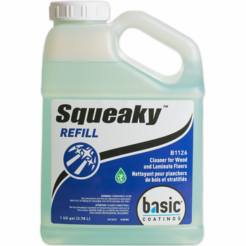 Basic Squeaky Ready-to-Use Floor Cleaner Refill, Gallon